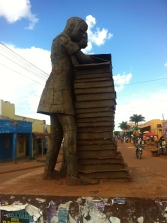 Gulu - students - pillar of peace